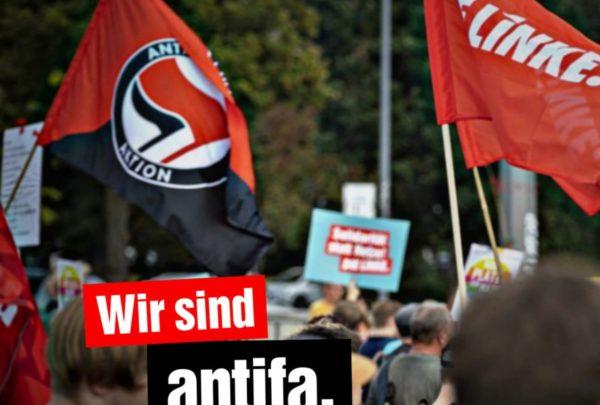 Wir sind antifa.