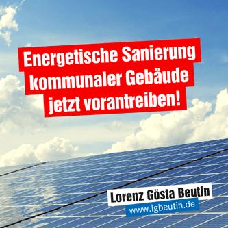 Lübeck muss in der Klimapolitik Schritt nach vorne machen