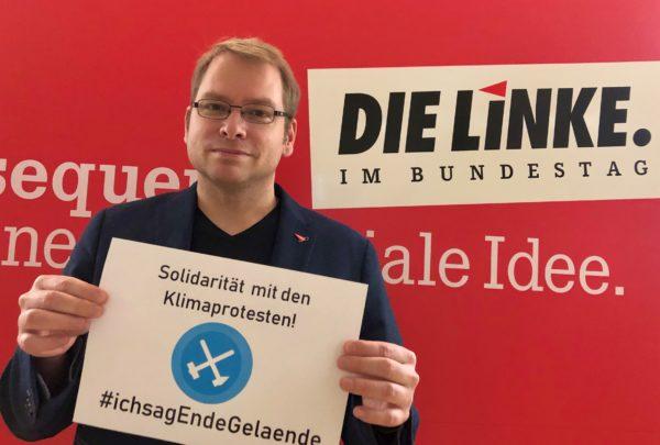 Solidarität mit den Klimaprotesten in der Lausitz