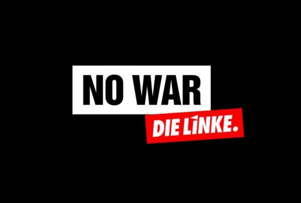 Kein Krieg.