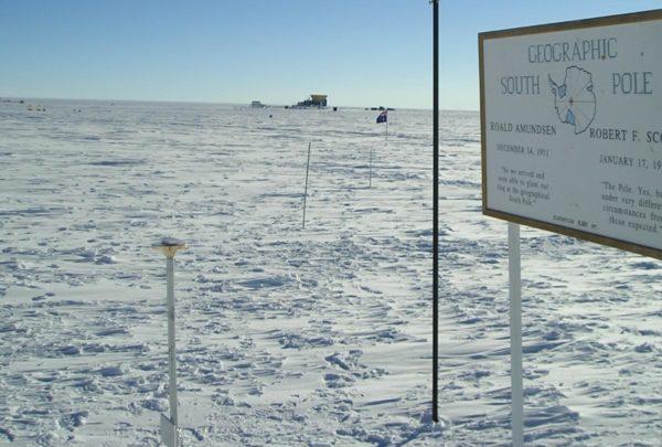 Zum Ersten Mal mehr als 20 Grad am Südpol!
