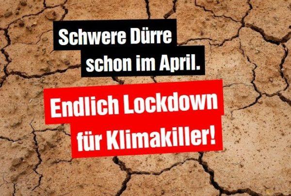 Schwere Dürre schon im April