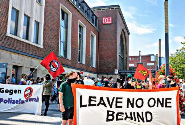 #BlackLivesMatter-Demo in Kiel