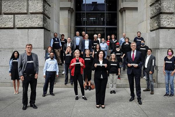 Soli-Erklärung der Fraktion DIE LINKE. im Bundestag zu #blacklivesmatter