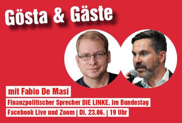 23.06 19 Uhr Live-Talk: Wer bezahlt die Krise?