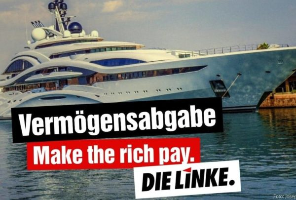 Make the rich pay!